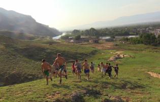 Клуб дзюдо в селе во время пандемии