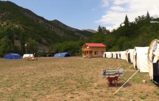 Закрытый лагерь во время пандемии