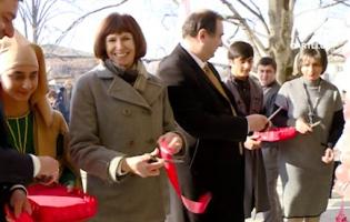 Открылась школа, в которую ходят два мальчика из оккупированного осетинского села