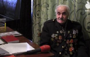 Ветерану войны Иродиону Табатадзе исполнилось 100 лет