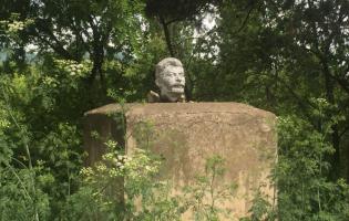 Советская символика в Меджврисхеви и Ахалубани