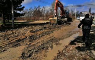 Началась реабилитация дороги, связывающей Ахалубани и Меджврисхеви