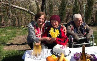 В Хурвалетском доме престарелых Джули Григолая исполнилось 88 лет
